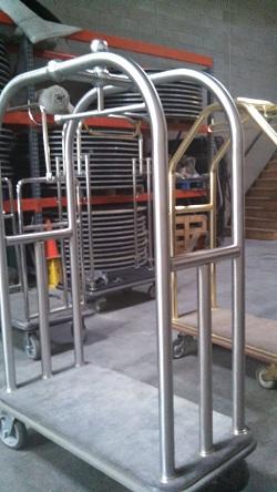 Hospitality Sales Equipment Bellman Cart Las Vegas