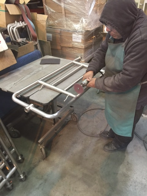 Refurbish Metal Bellman Cart Rent Buy Las Vegas Arizona Utah