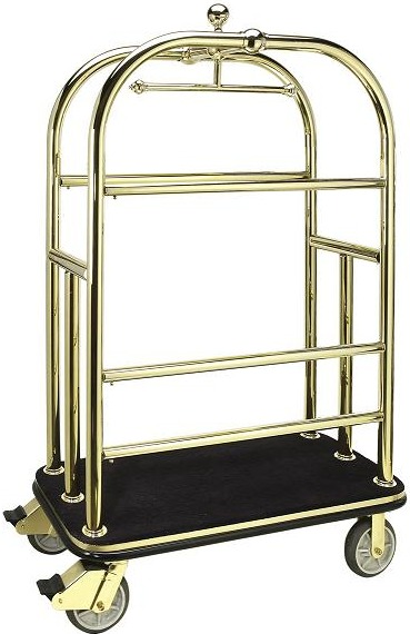 Brass Bellman Cart Las Vegas Sales