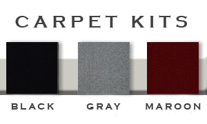 Carpet Kits Bumper Carts Las Vegas