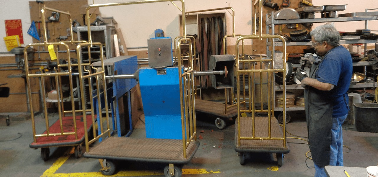 Bellman Cart Las Vegas Repair Refurbish
